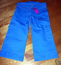 NWT BCBG Girls BCBGirls Blue Capri Pants 8