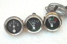 IH Farmall 240, 300, 330, 340 Gas, 350, 400, 450 Temp,Oil Pressure, Ampere Gauge