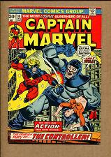 Captain Marvel #30 - Thanos Cameos  - 1965 (Grade 6.5) WH
