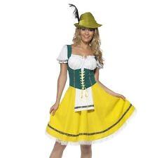 Ladies Oktoberfest Fancy Dress German Bavarian Octoberfest Beer Maid Costume Extra Large