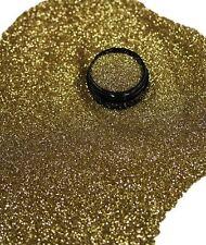 3ml Glitter 0,2mm, Champagne, Glitterstaub, Puder in Acryl Dose, Nr. 801-054-a