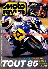 MOTO REVUE 2728 Spécial Bilan Sportif 1985 ; Freddie SPENCER Salon de MILAN 1985