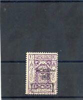 SAUDI ARABIA(HEJAZ) Sc LJ29(MI P22I))*F-VF LH $45
