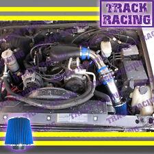 96 97-05 CHEVY S10 ZR2 ZR5 BLAZER SONOMA JIMMY 4.3L V6 COLD AIR INTAKE KIT Blue