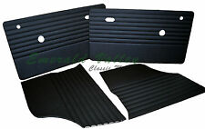 CLASSIC MINI 73-96 NEW TRIM INTERIOR KIT BLK 2 DOOR 2 REAR QUARTER LINERS AUSTIN