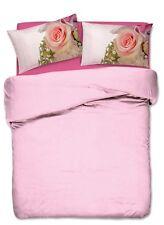 PARURE HOUSSE DE COUETTE 1 1/2 PETIT LIT DOUBLE BOUQUET PAR ROSE ROSE imprimés