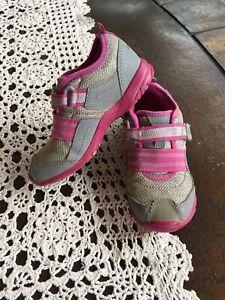 Stride Rite M2P Felicia Pink Gray Sneaker Girl's Size 10M