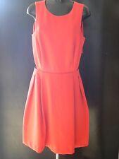 Myleene Klass Espalda Abierta Vestido Patinador Rojo Talla 18 Nuevo Etiquetas
