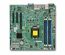 Supermicro x10slh-f Intel c226 Socket h3 (LGA 1150) MICRO ATX Server/Works ~ D ~