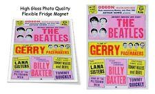 "The Beatles 1963 Odeon Theatre England Concert Poster 3""X4"" FRIDGE MAGNET"