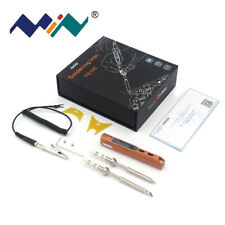 Miniware TS100 Digital Soldering Iron OLED Programable DC5525 With B2+BC2 Tips
