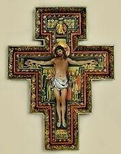 "Joseph Studio San Damiano Wall Cross 17"" Inches NIB Crucifix Christian Faith"