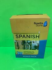 New: Rosetta Stone - Learn Latin American - Spanish - Bonus Pack