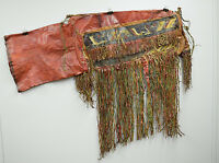 African Camel Saddle Bag Leather Tuareg North Africa