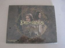 The Lord of the Rings Two Towers Eight Double Sided Poster Cards Still Sealed Nh