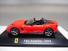 FERRARI F60 AMERICA 2014 FERRARI GT SUPERCARS IXO 1/43