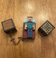 Minecraft Core Player Survival Pack Series 1, Steve Action Figure w/ Accessories
