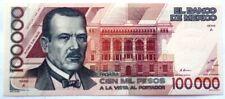 MEXICO BANKNOTE 100000 Pesos, Pick 94a  UNC  1988