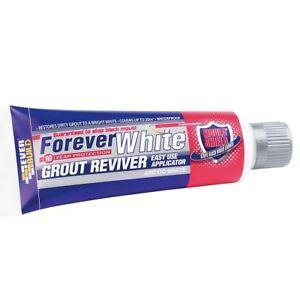 Everbuild Forever White Tile Grout Reviver Restorer Arctic White