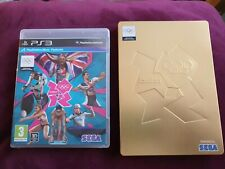 London 2012 Olympics PS3 - New With Rare Gold Steel Book