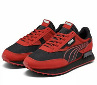 Puma Men's Future Rider Ripper Shoes Size 10.5 Risk Red-Black-Puma White