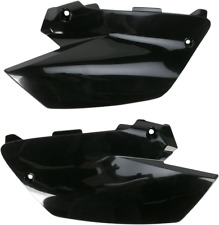 RESTYLED UFO BLACK SIDE REAR NUMBER PLATES YAMAHA YZ125 YZ 125 YZ250 250 ONLY
