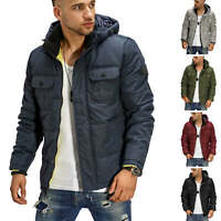 Jack & Jones Winterjacke Kapuzenjacke Steppjacke Wintermantel Kurzmantel Casual