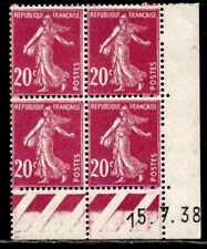 Coin daté Semeuse n° 190b du 15/7/1938 **