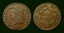 1826  Half Cent 1c .Classic Head ,  USA
