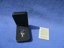 2007 Harley Davidson CVO commemorative collector brass barrel key keepsake