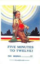 Greetings Drunk Man Drinking Comic Humor Bamforth Antique Postcard J67285