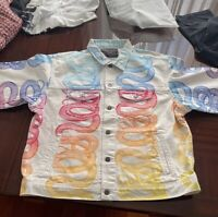 Supreme/Hysteric Glamour Snake Denim Jacket - in Hand - Size XL