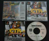 CTR Crash Team Racing Game PlayStation One PS1 Very Good Cond Manual Incl PAL
