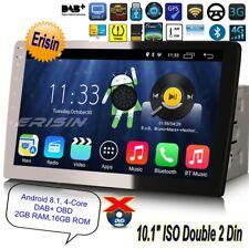 "Android 8.1 Staccabile 2 Din Autoradio Antifurto DAB+Navigatore DTV 4G 10.1""3310"