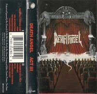 Death Angel - Act III (Cassette 1990 Geffen)