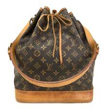 100% Authentic Louis Vuitton Monogram Noe Drawstring Shoulder Bag /10920