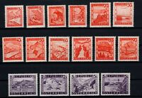P126411/ AUSTRIA – MI # 838 / 853 COMPLETE MINT MNH – CV 110 $