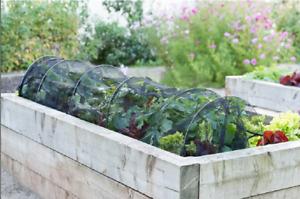 3m Net Grow Tunnel Garden Cloche Allotment Plant Protector Mesh Mini Greenhouse