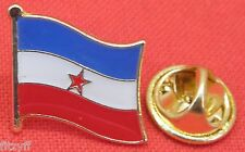Yugoslavia Flag Lapel Hat Tie Pin Badge Brooch Краљевина Југославија Yugoslav