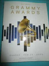 2019 MINT 61st GRAMMY AWARDS Program Grammys Lady Gaga Diana Ross Dolly Parton