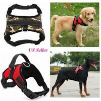 Dog Pet Vest Harness Leash Collar Set No Pull Adjustable for Small/Medium/L/XL