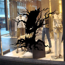 1 Ghost Tree Design PVC Wall Sticker Removable Halloween Living Room Wall Decals