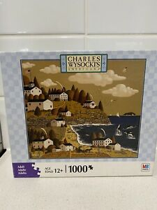 CHARLES WYSOCKI * HAVING A WHALE OF A GOOD TIME  *  1000 PIECE JIGSAW PUZZLE