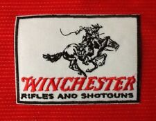 WINCHESTER RIFLES AND SHOTGUNS RIFLE GUN FIREARMS BADGE IRON SEW ON PATCH
