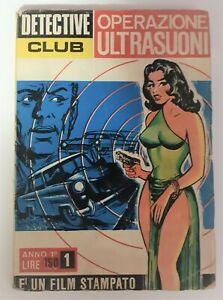 Detective Club numero 1  anno 1 1967
