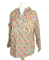 Cath Kidston Multicoloured Floral Kitsch Holiday Camping Rain Pac a Mac Size L