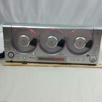 Emerson  TRIPLE PLAY LINEAR MS3106  AM FM 3 - CD  Changer Player Parts or Repair