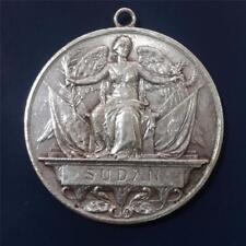 Great Britain 1896 - 1898 Qeen Victoria SUDAN Original Silver Medal . Unnamed