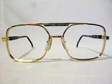 Tart Optical Regency Vintage Double Bridge Eyeglass Frame Gold/Brown 55-20