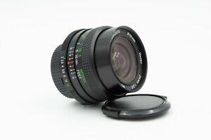 Vivitar 24mm f2.0 Lens Minolta MD Mount Rare Fast f2.0 In Excellent Condition